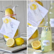 Homemade Lemonade Gift Kit and Printables