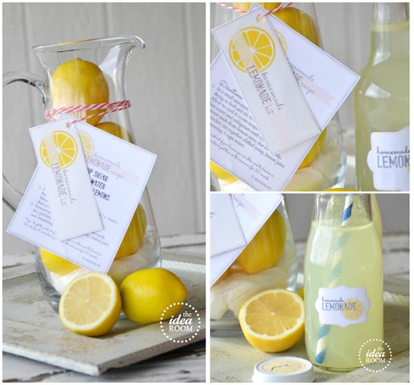 Homemade-Lemonade-Recipe theidearoom.net