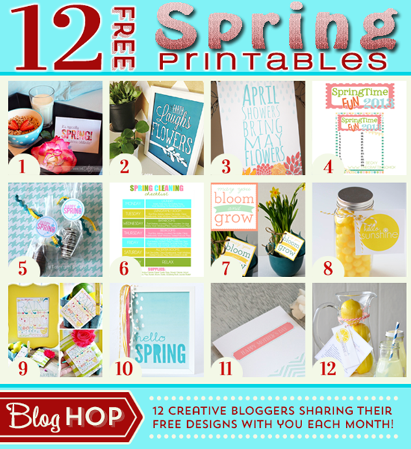 Spring-Printables-Free theidearoom.net