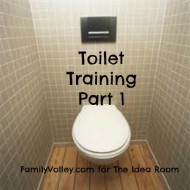Toilet Training – Part 1