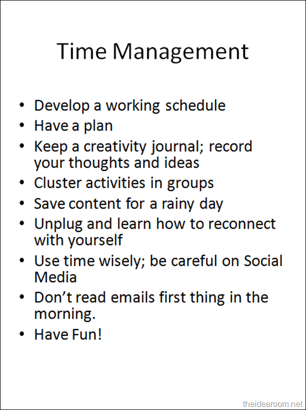 blogging-Time-Management 2