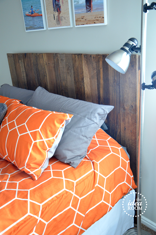 Diy Pallet Headboard The Idea Room
