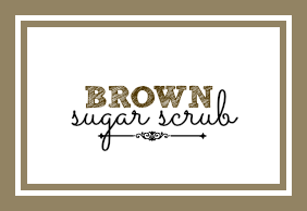 Brown Sugar Scrub Label