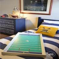 Football Game–Boys Room Decor and Game