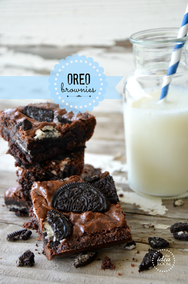 Oreo-Brownies