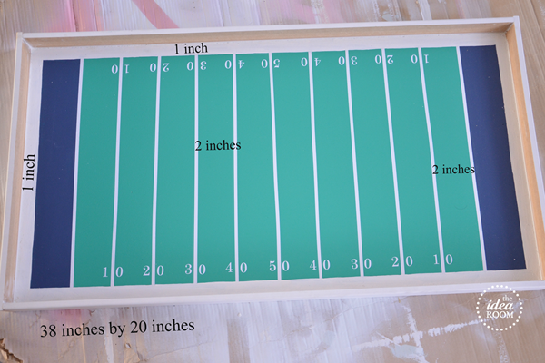 football-game measurements