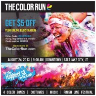 The Color Run in Salt Lake City