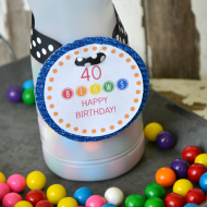 Up-cycled International Delight Container—40 Blows