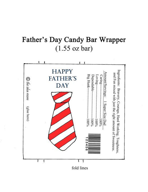 Fathers-day-candy-wrapper-red-white
