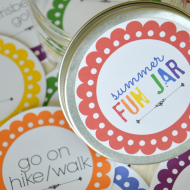Summer Fun Jar–Printable Blog Hop