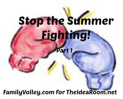 Stop the Summer Fighting!