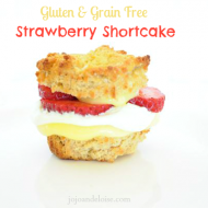 Strawberry Shortcake {Grain & Gluten Free}