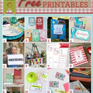 12 Back-To-School Printables