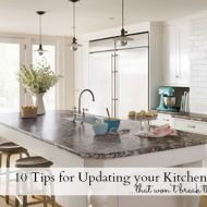 Tips for Updating Your Kitchen on a Smaller Budget