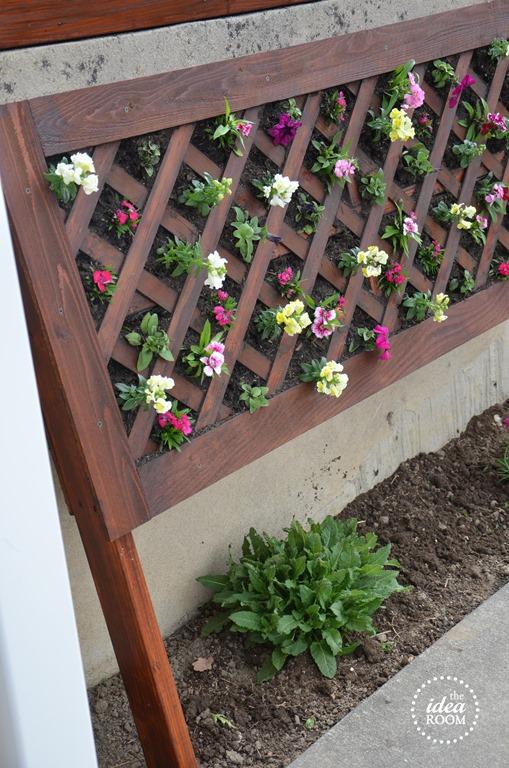 DIY Vertical Flower Bed - The Idea Room