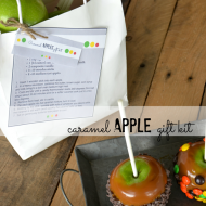Caramel Apples Gift Kit–12 Fall Printables
