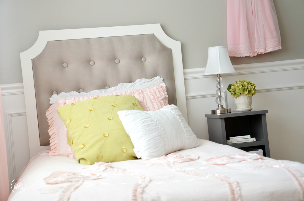 how to hang tufted headboard 3