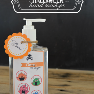 Halloween Gift–Germ Slayer Hand Sanitizer