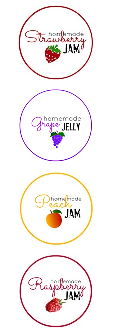 Printable-Jam-labels