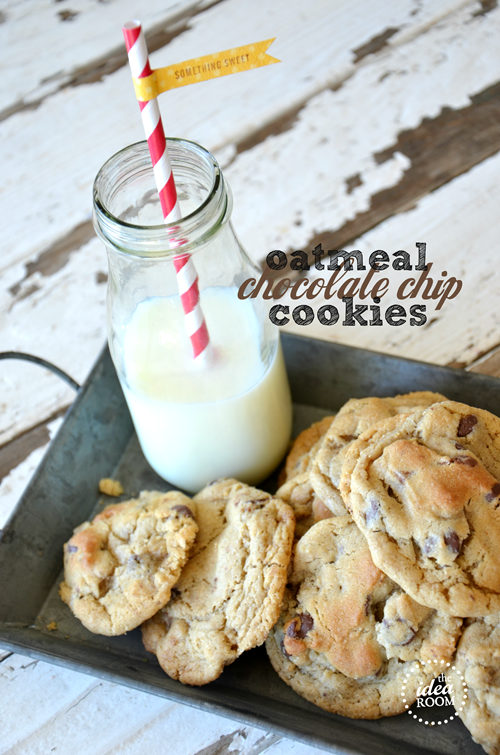 Oatmeal-Chocolate-Chip-Cookie recipe