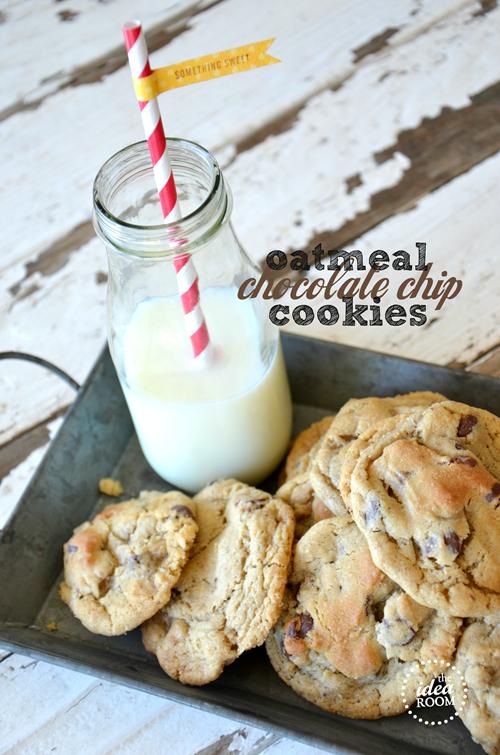 Oatmeal-Chocolate-Chip-Cookie recipe