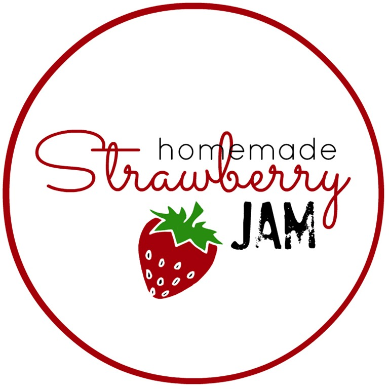 Strawberry-Jam-Labels
