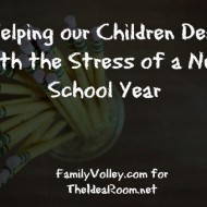 Helping Kids Deal with Back-To-School Stress