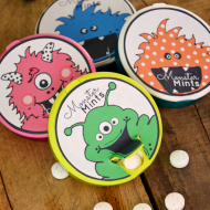 Monster Mints and 12 Free Halloween Printables