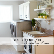 Tips for Updating your Laundry Room