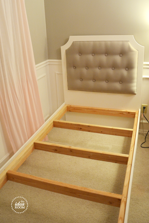 Diy Tufted Headboard Part 2 The Idea Room