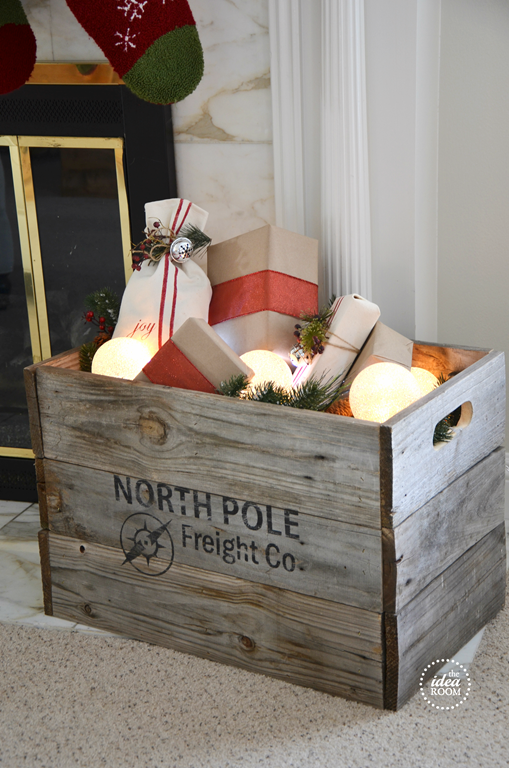 Christmas Crate | Christmas Decor