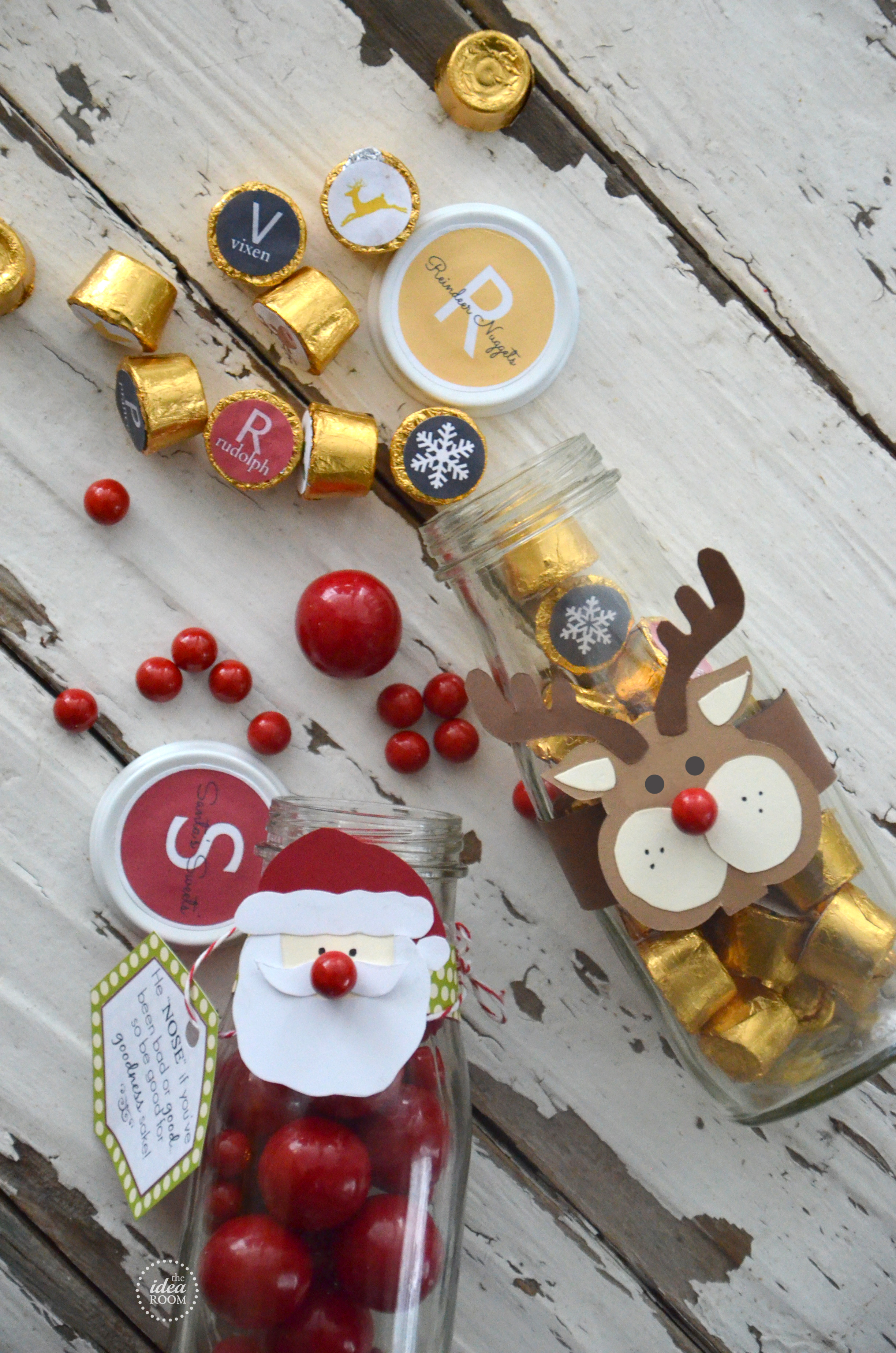 Christmas Candy Gift - The Idea Room