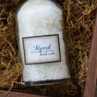 Myrrh Bath Salts Recipe–Christmas Gift