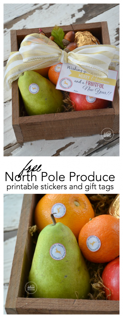 North-Pole-Produce pin