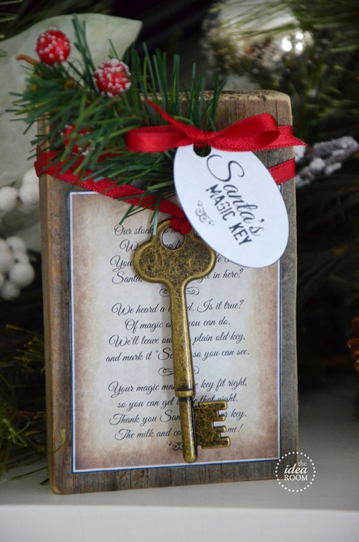 santa 39 s key the idea room On santa s magic key craft