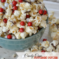 Candy Cane Popcorn & a Giveaway