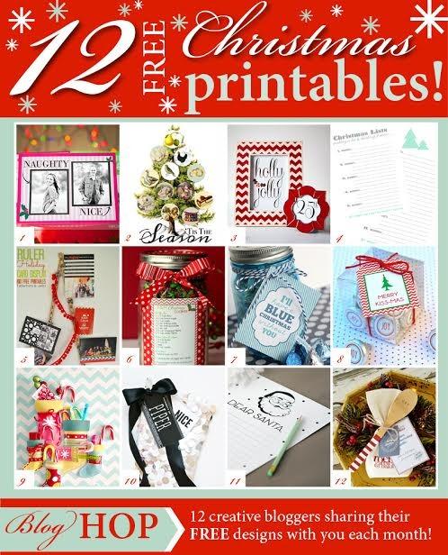 image regarding We Wash You a Merry Christmas Free Printable titled 12 No cost Xmas Printables Neighbor Present Tags - The Principle