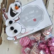 Frozen Olaf Valentine's Printables