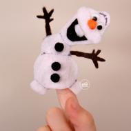 Olaf Finger Puppet Pattern