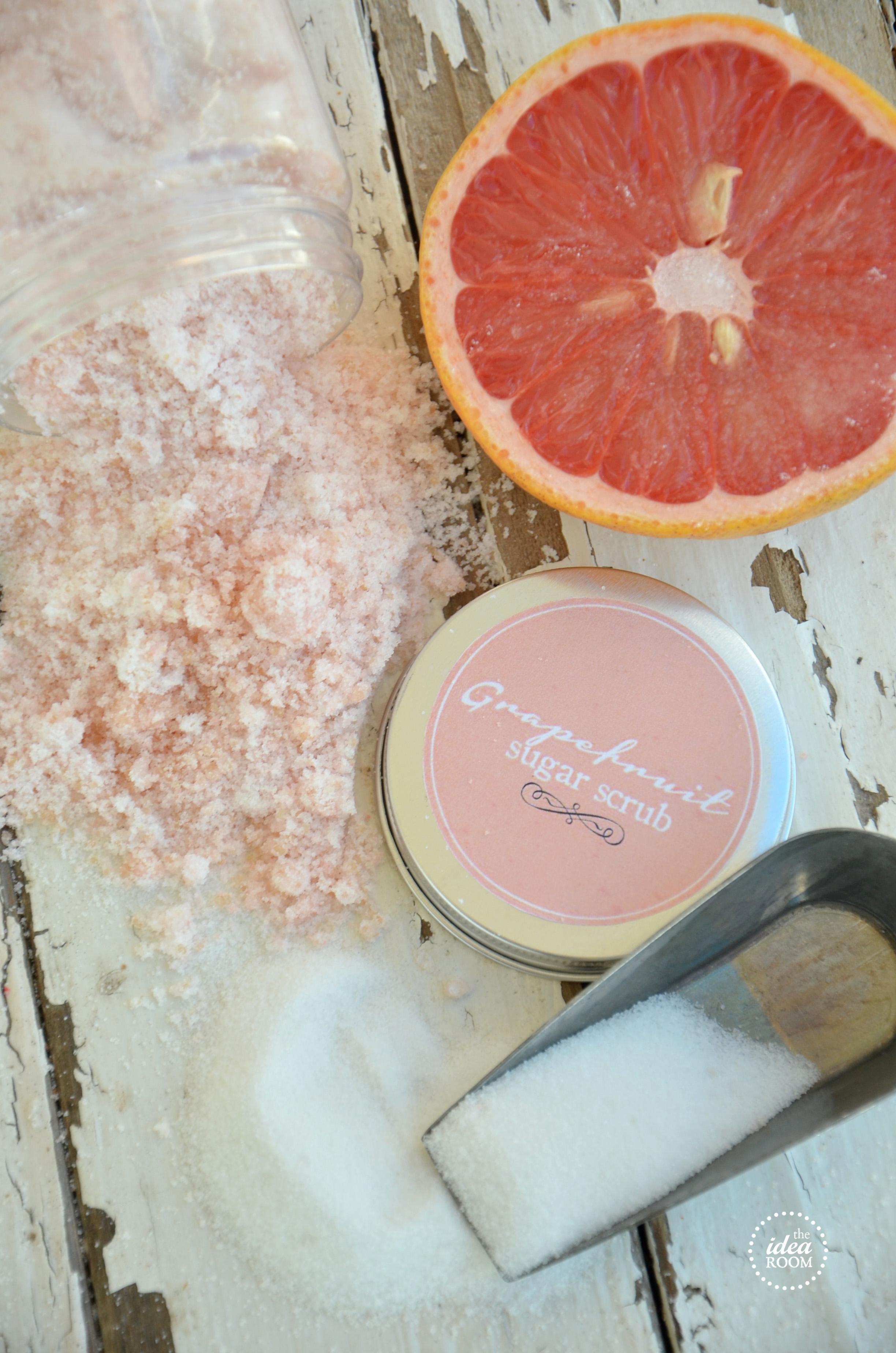 Grapefruit Sugar Scrub Recipe The Idea Room