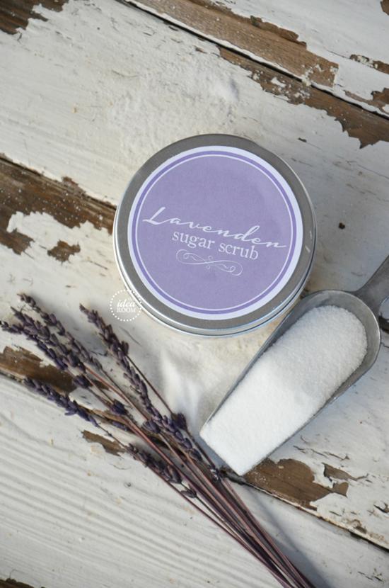Lavender Sugar Scrub Recipe The Idea Room