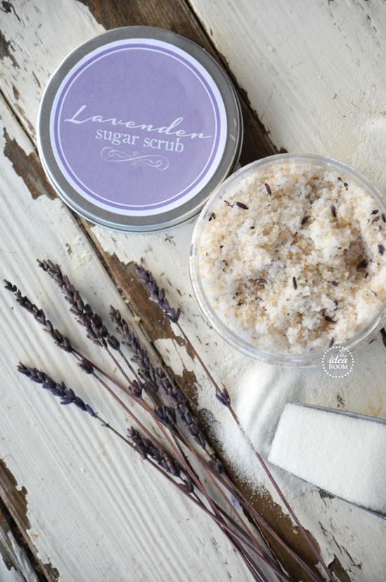 Lavender-Sugar-Scrub