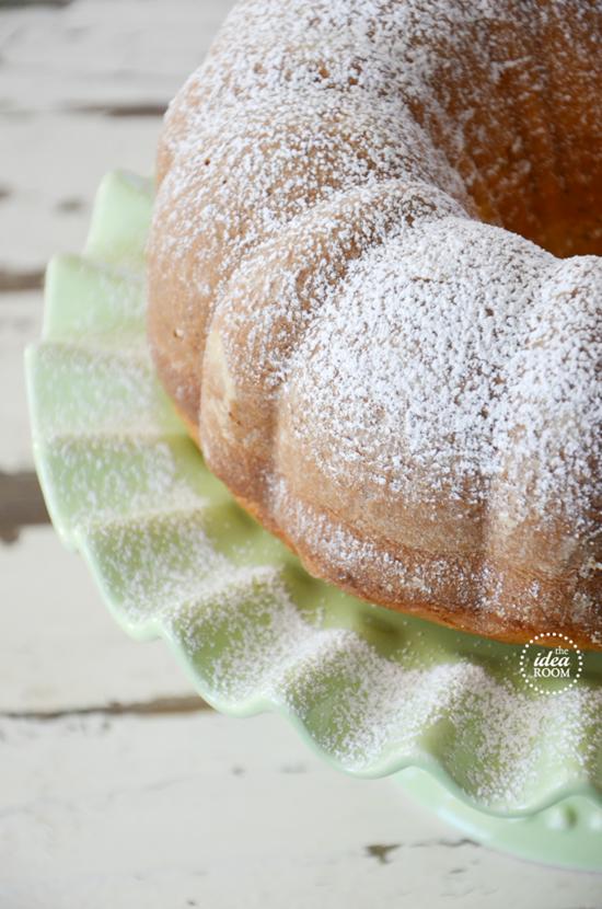 Lemon Poppy Seed Bundt Cake With Yellow Cake Mix