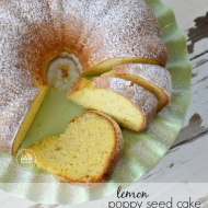 Lemon Poppy Seed Bundt Cake Uk