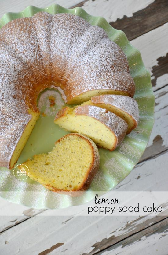Lemon Poppy Seed Cake Picled Sisters
