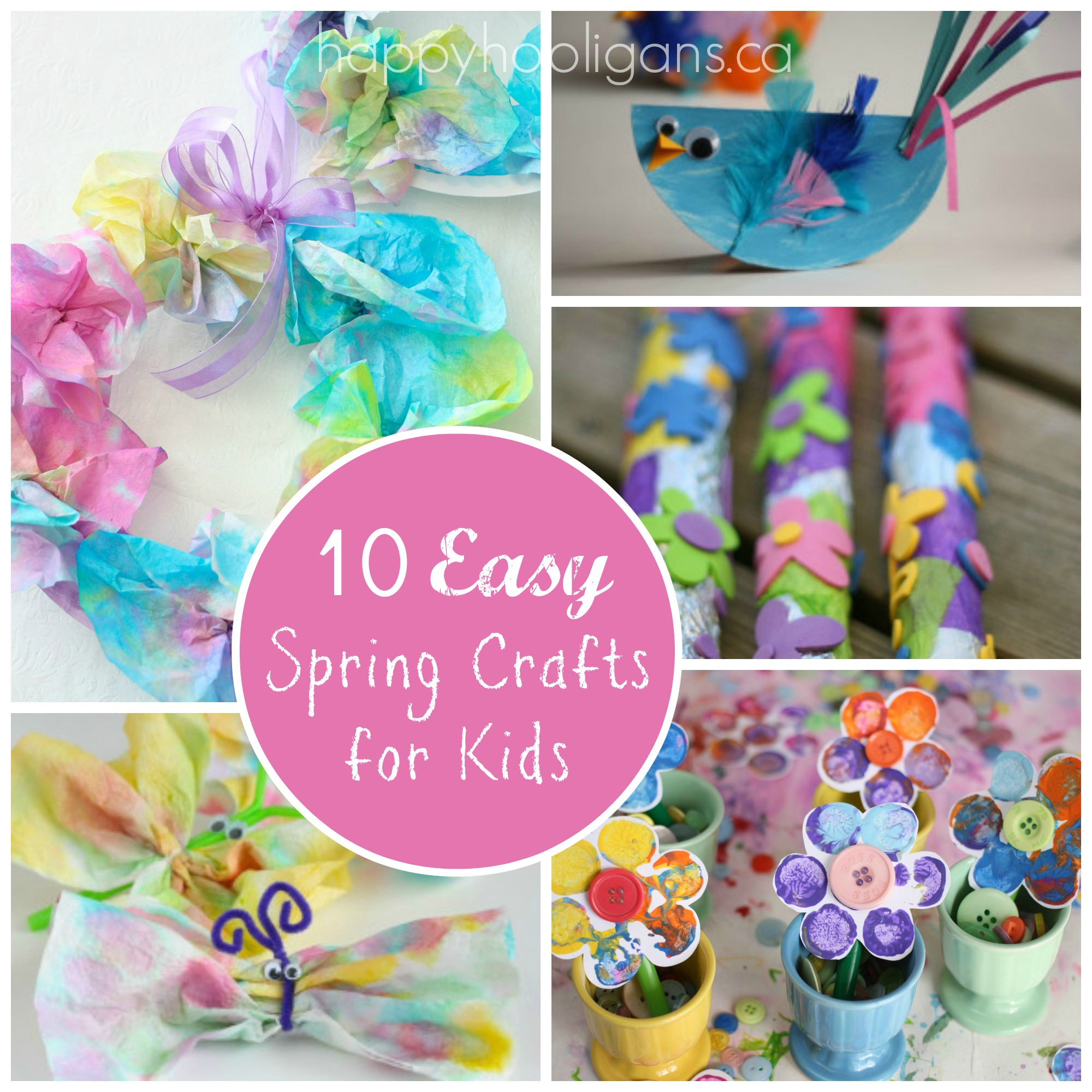 Spring Craft Projects For Elementary Students