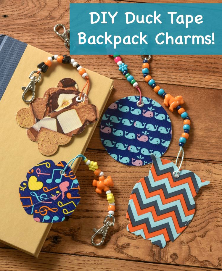 Learn-how-to-make-backpack-tags-with-Duck-Tape