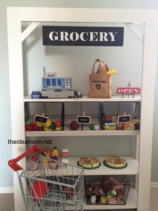 Diy Kid S Grocery Stand The Idea Room