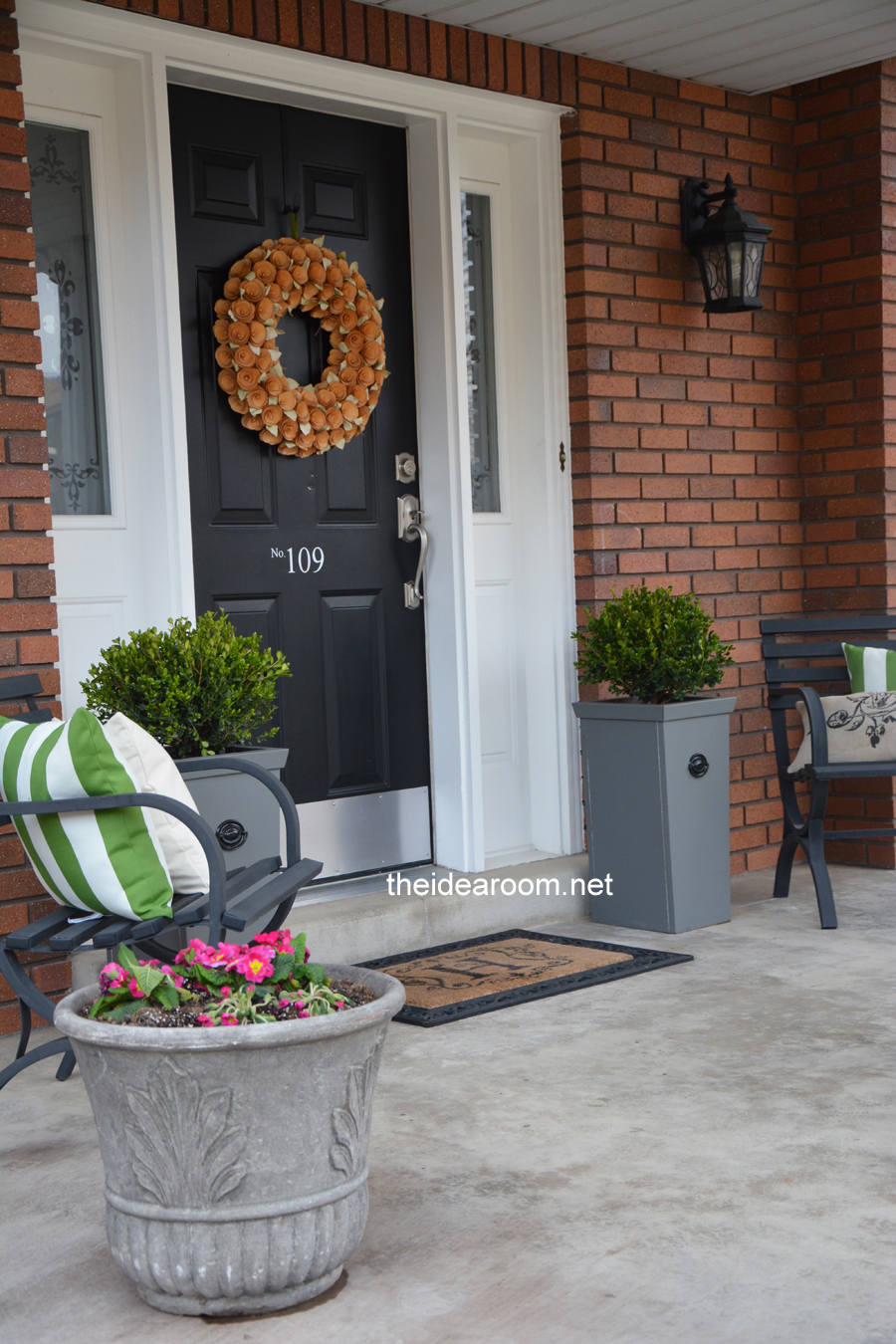 Diy Porch Planter