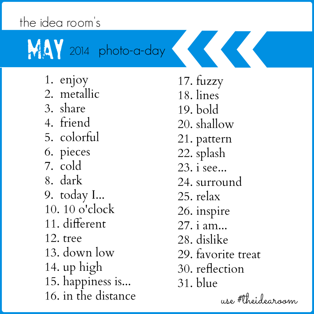 May Photo-a-day 2014